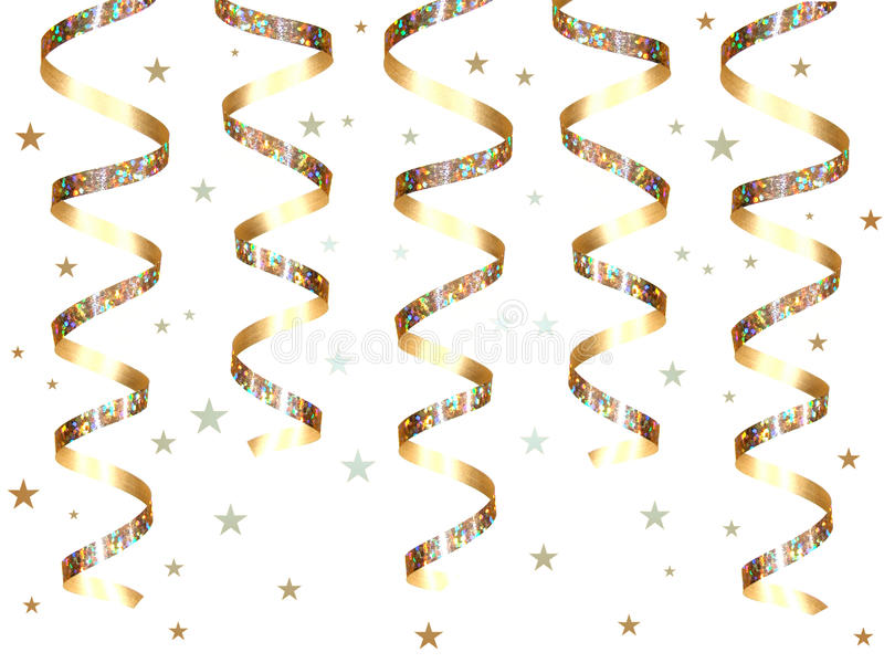 Party Streamers Royalty Free Stock Images