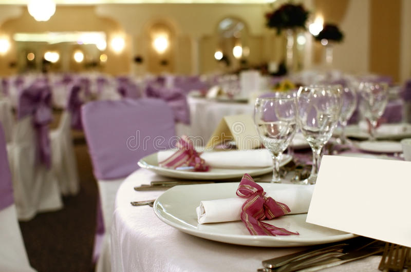 Download Party Table Arrangement Royalty Free Stock Images - Image: 17152029