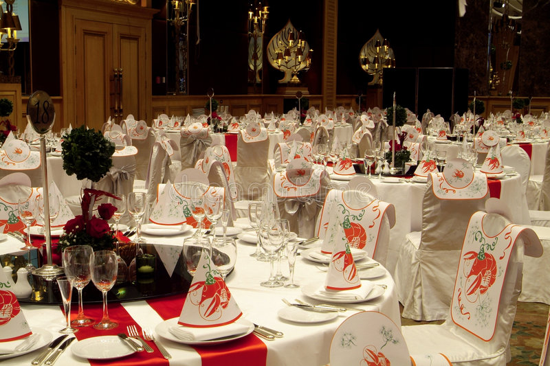 Download Party tables stock image. Image of chair, tablecloth, event - 1415281