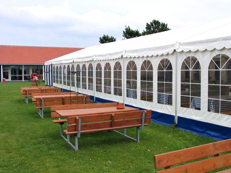 Party tent. Party events wedding celebration banquet tent stock photos
