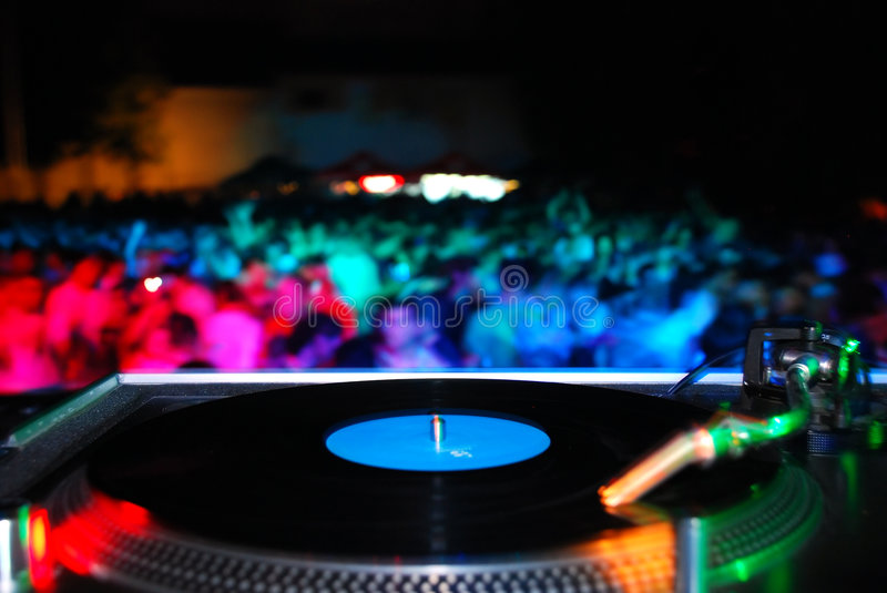 Party time. Details on techno,house party royalty free stock photos