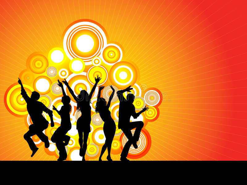 Download Party time stock vector. Image of youth, funky, women - 3218088