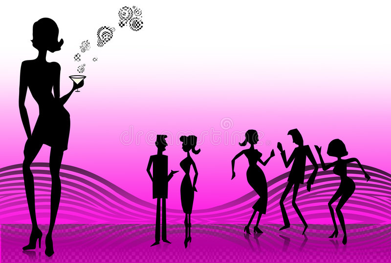 Download Party time stock illustration. Image of ball, entertainment - 3457372