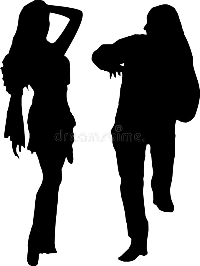 Download Party time stock illustration. Image of couple, ethnic - 472143