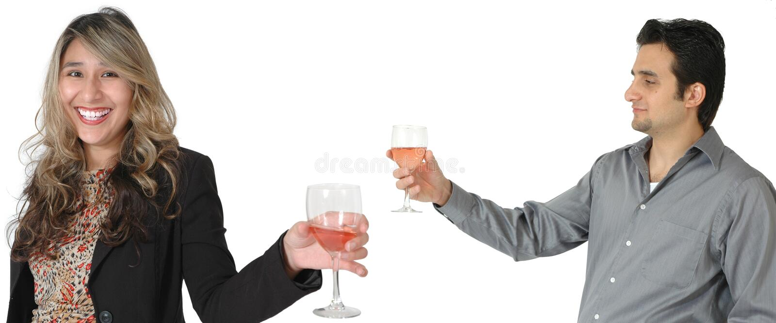 Party Toast royalty free stock images