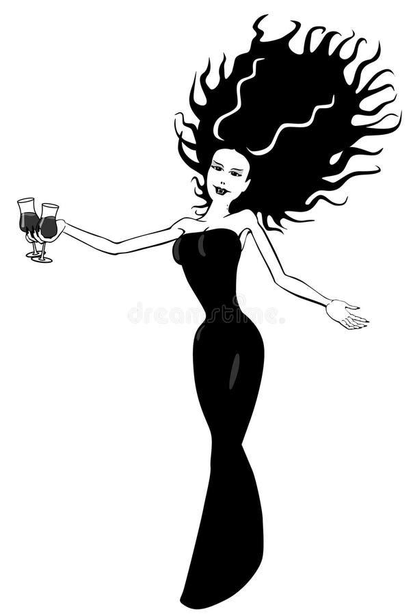 Download Party Vampire stock vector. Illustration of vamp, fangs - 20580799