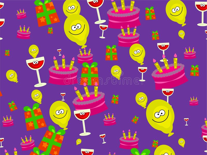 Party wallpaper stock illustration