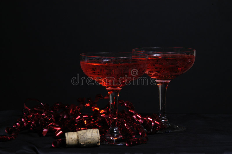 Party-Wein stockfoto