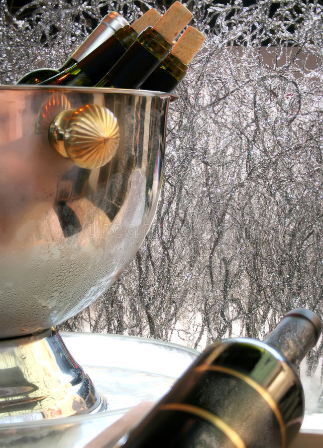 Party wine royalty free stock photos