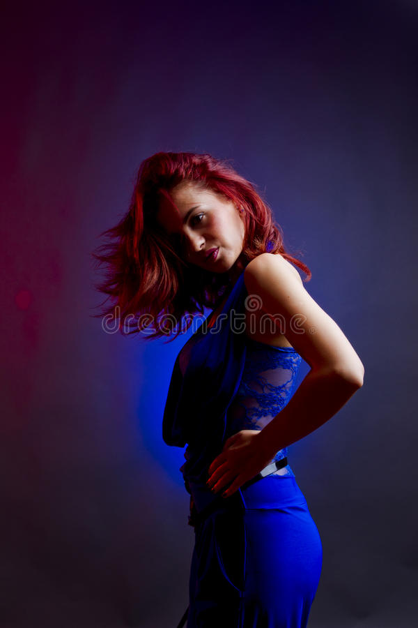 Party woman royalty free stock images