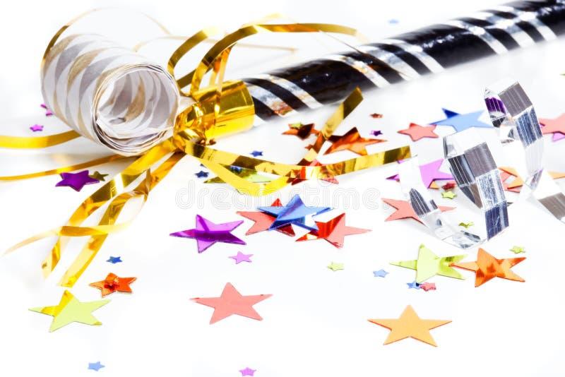 Partybevorzugungen lizenzfreie stockfotos