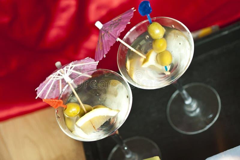 Partygetränke stockbild. Bild von oliven, zitrone, partei - 8363815