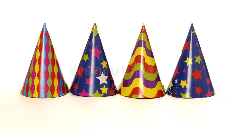 Partyhüte stockbild