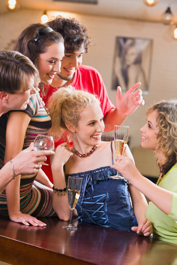 Download Partying stock photo. Image of friendship, holding, chatting - 3415848