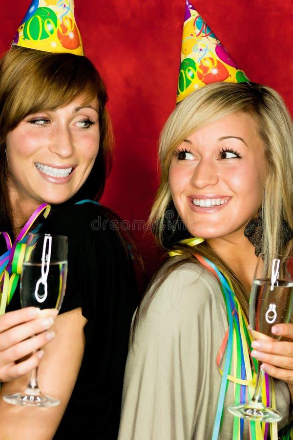 Partyjne dziewczyny obraz royalty free