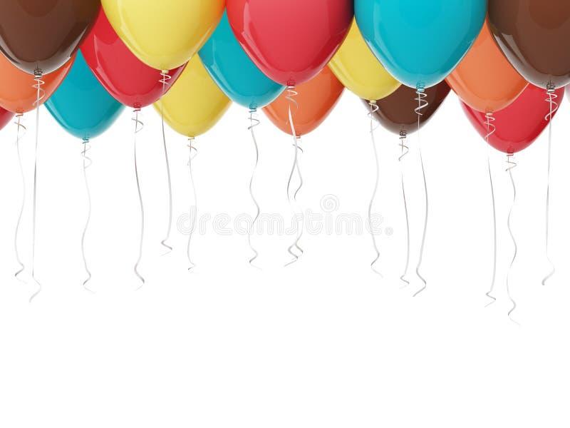 Partyjni balony ilustracja wektor