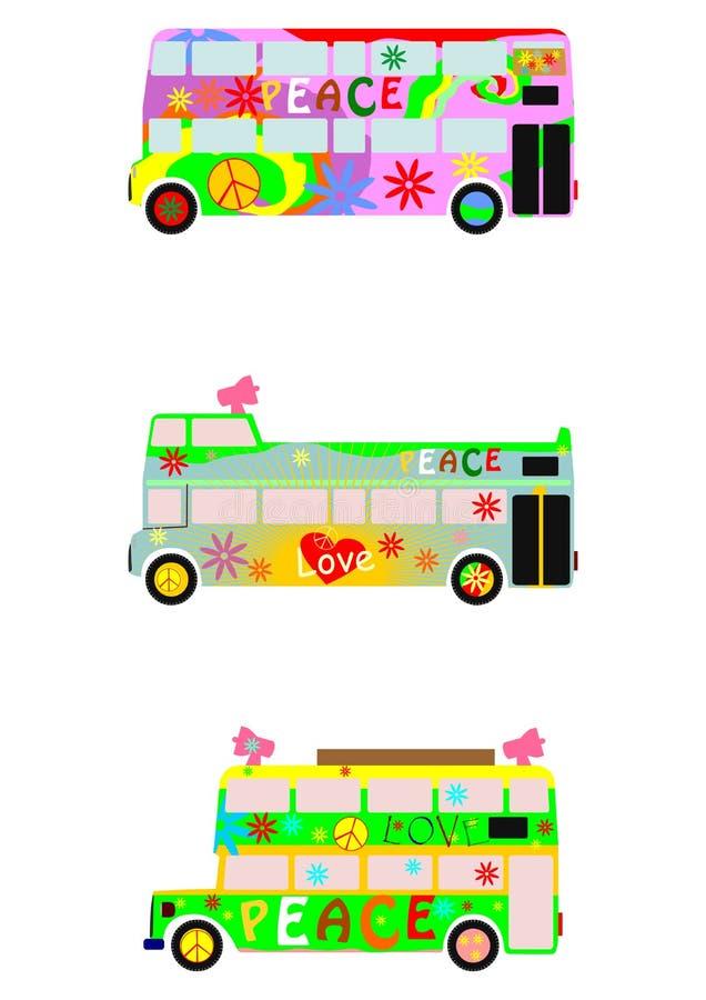 Partyjny autobus royalty ilustracja