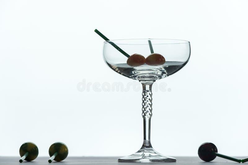 Partyjny czas, szkło specjalny napój fotografia royalty free