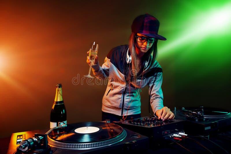 Partyjny dj zdjęcie stock