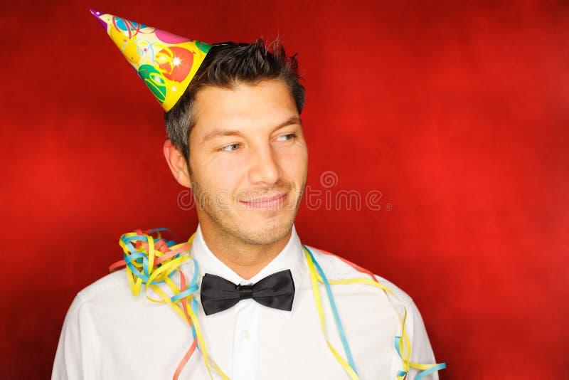 Partyjny mężczyzna zdjęcie stock