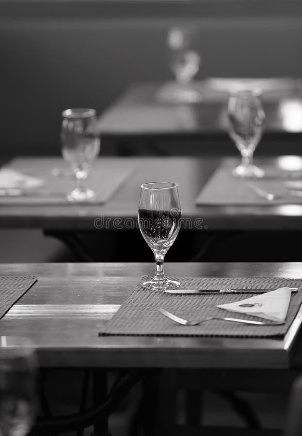 Partyjny stołowy przygotowania zdjęcia royalty free