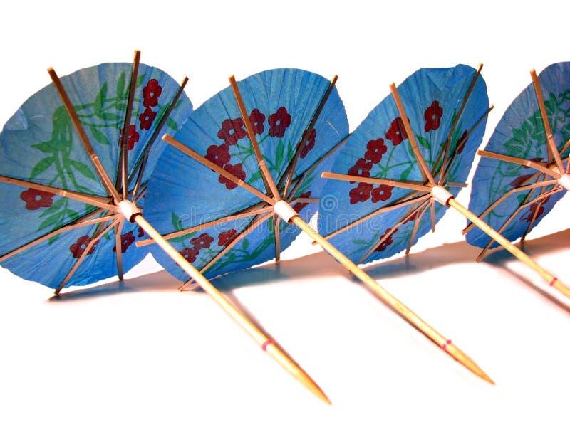 Partyregenschirme lizenzfreie stockfotografie