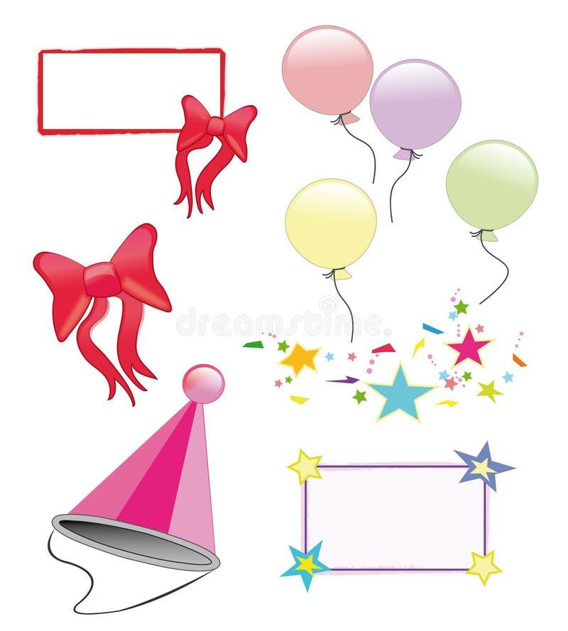 Partysymbole Stockfoto