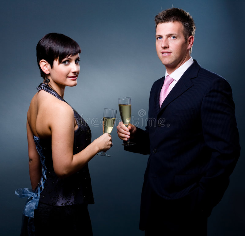 Partyzeit stockbild