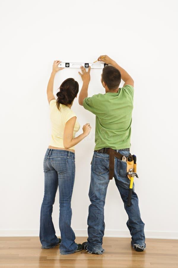 parutjämning fotografering för bildbyråer