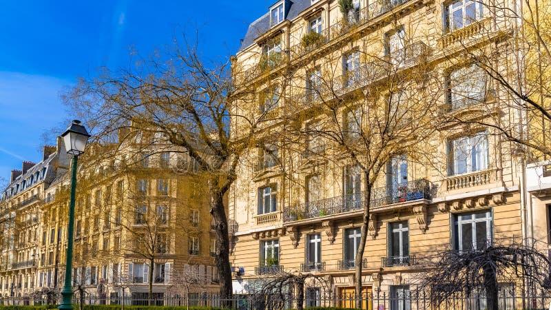 Paryż, typowe fasady obraz stock