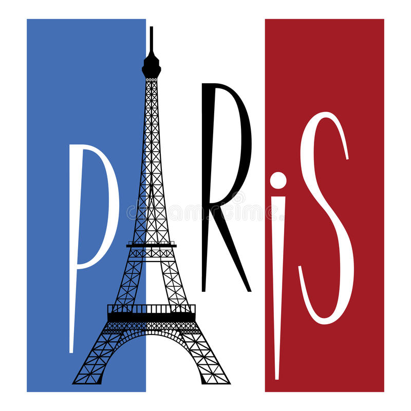 Paryż royalty ilustracja