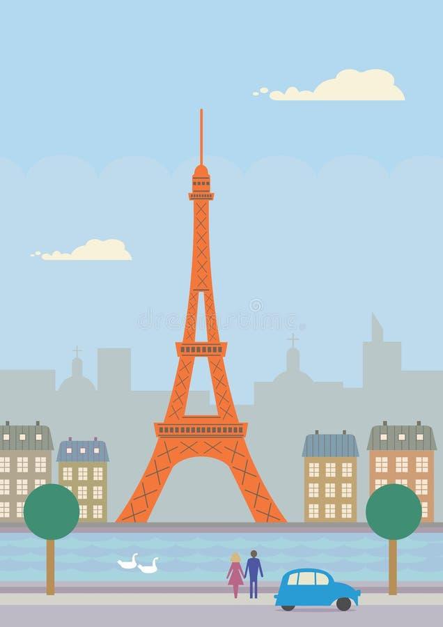 Paryż ilustracji