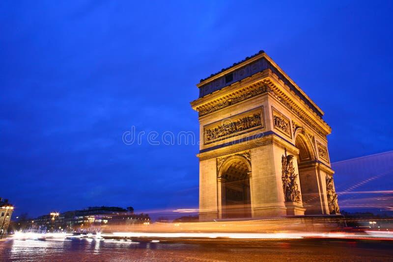 Paryż etoile obraz stock