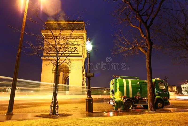 Paryż etoile obrazy stock