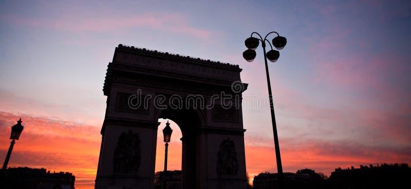 Paryż etoile zdjęcia stock