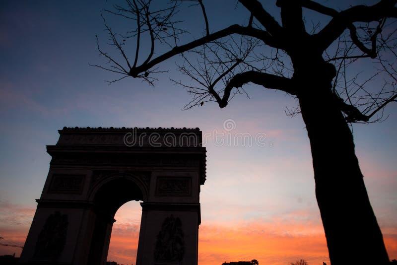 Paryż etoile fotografia stock