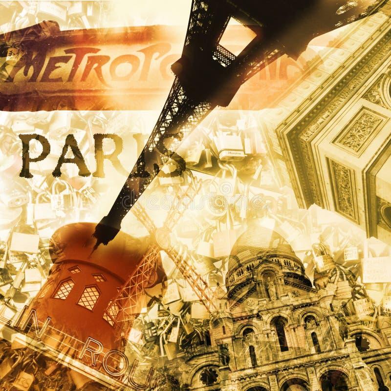 Paryż, Francja fotografia royalty free