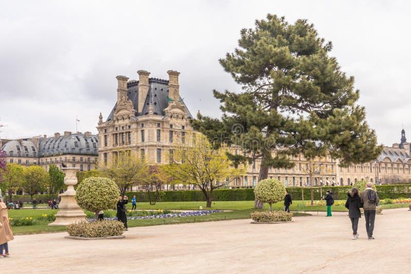 Paryż Francja, KWIECIEŃ, - 9, 2019: Ã ‰ cole Du Louvre Instytucja wykszta?cenie wy?sze, Pary? zdjęcie royalty free
