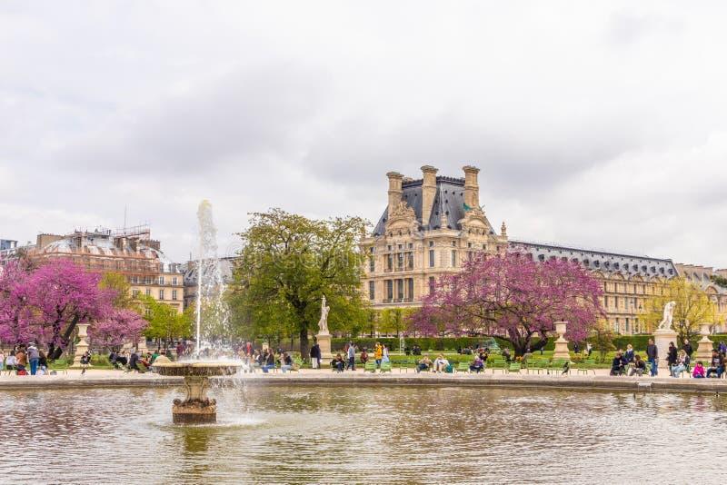 Paryż Francja, KWIECIEŃ, - 9, 2019: Ã ‰ cole Du Louvre Instytucja wykszta?cenie wy?sze, Pary? fotografia stock