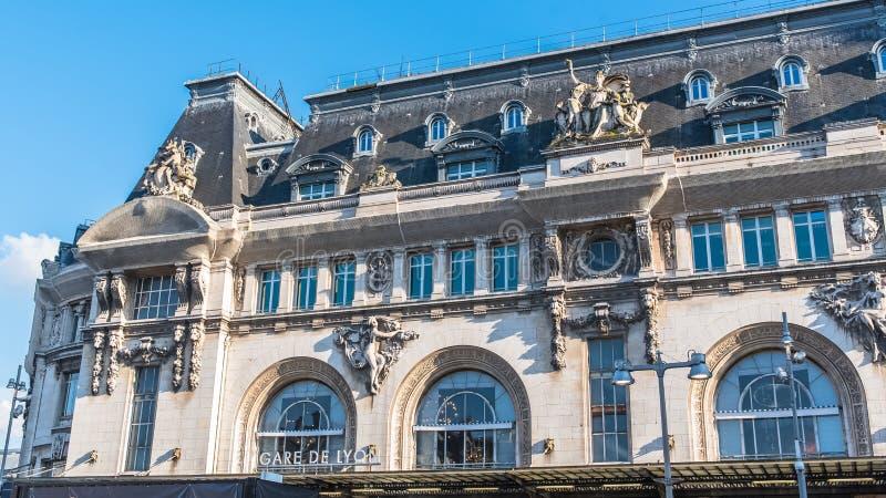 Paryż, gare De Lion obrazy royalty free