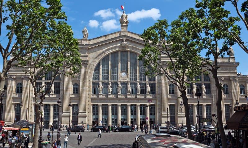 Paryż - północy stacja obrazy stock