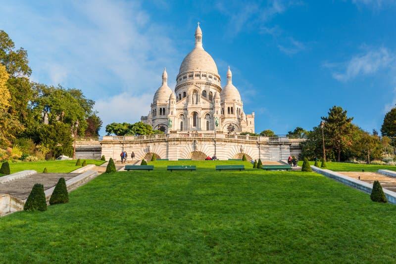 Paryż, Sacre-Coeur - fotografia stock