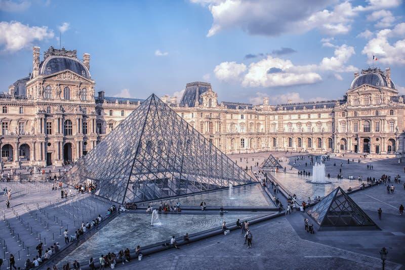 Paryż w dniu obraz stock