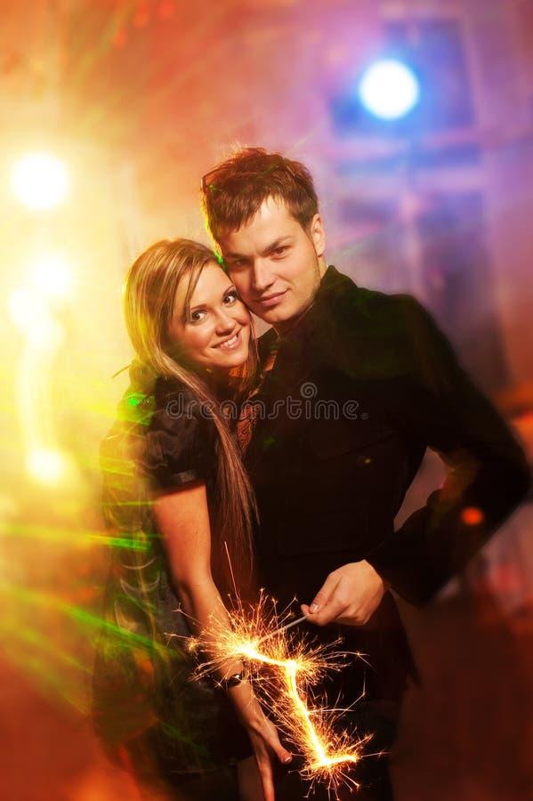 pary świetlicowa noc zdjęcie royalty free