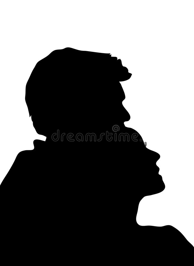 pary (1) obejmowanie ilustracji