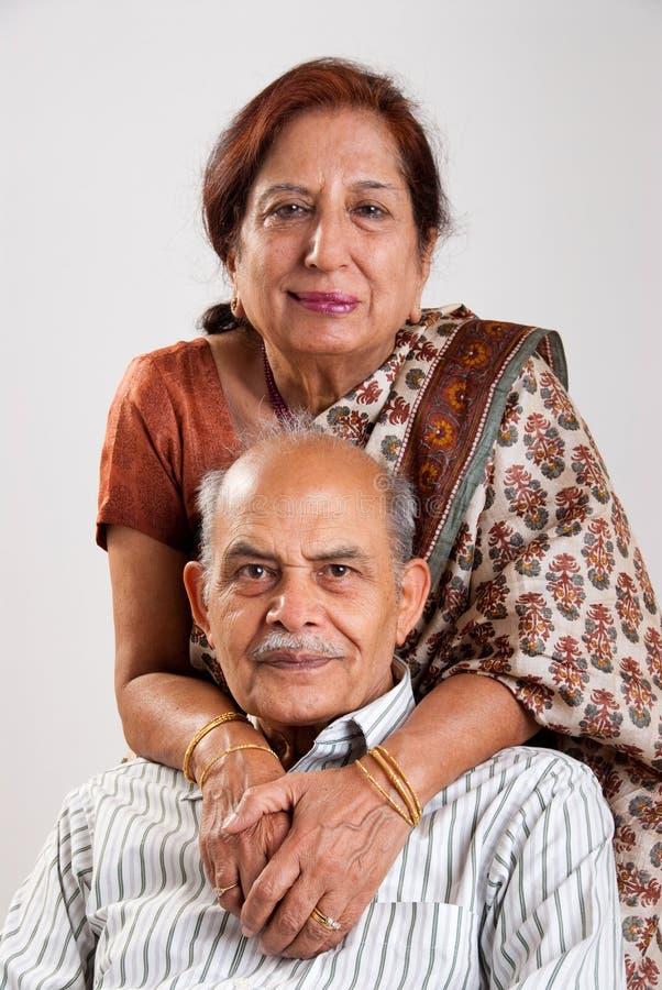 pary hindusa senior obrazy stock