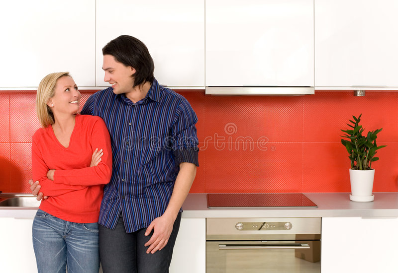 pary kuchni pozycja zdjęcia royalty free