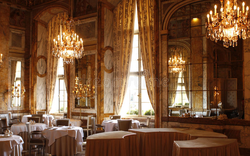 PARYŻ: Pałac hotel Crillon zdjęcie stock