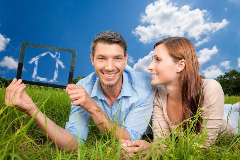 Domowa reklama zdjęcie stock