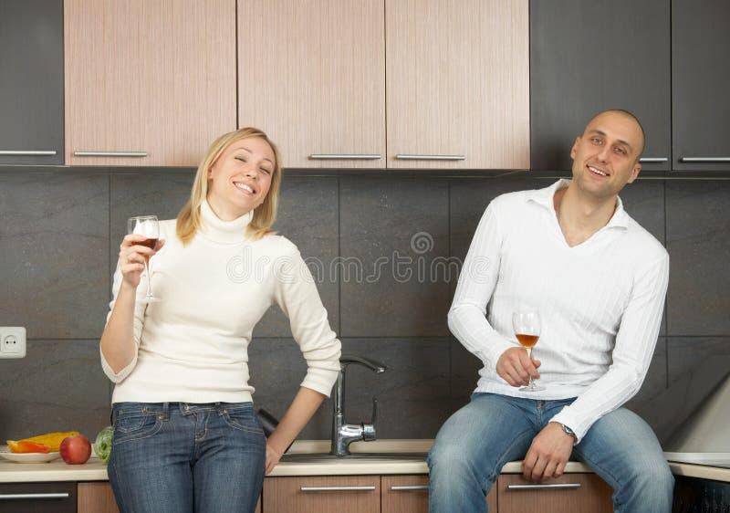 pary wino obrazy stock